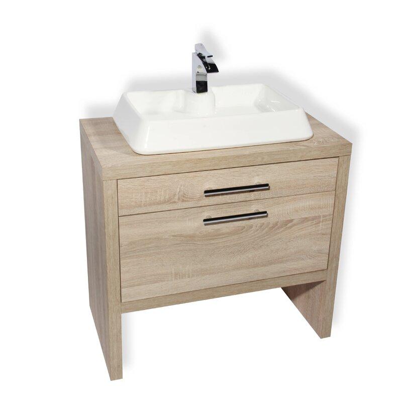 "Hispania Home Montreal 24"" Single Bathroom Vanity Set ..."