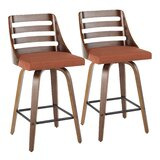 Caesar Swivel 25.75 Counter Stool (Set of 2) by Corrigan Studio®