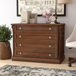 Darby Home Co Ardnaglass Traditional 4-Drawer Lateral filing cabinet