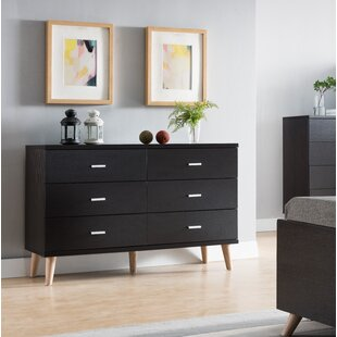 Grosso 6 Drawer Double Dresser