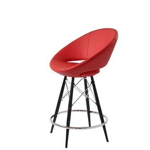 Hedgepeth Dowel 24 Bar Stool Orren Ellis