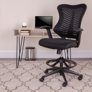 Haynie High Back Designer Ergonomic Mesh Drafting Chair by Symple Stuff Read Reviews