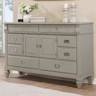Beachcrest Home Vasilikos Antique 8 Drawer C..
