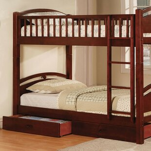 Flounder Twin over Twin Bunk Bed with Drawers