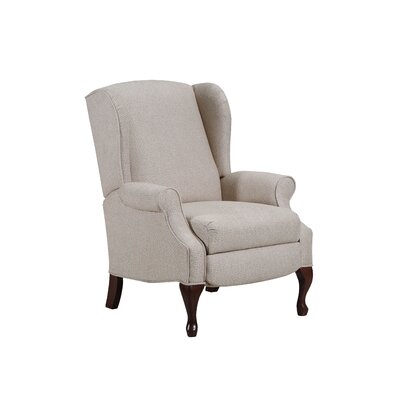 August Grove Manual Recliner Upholstery Color: Glenrock Oatmeal by August Grove