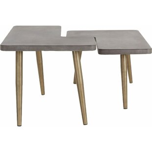 Hawkins Coffee Table Set (Set Of 2) By Ebern Designs