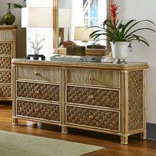 Mandalay 6 Drawer Standard Dresser by Spice Islands Wicker