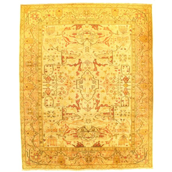 Bungalow Rose Colella Hand Knotted Wool Camel Area Rug Wayfair