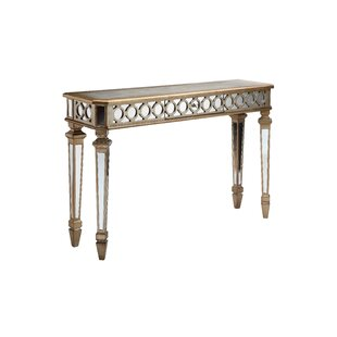 Affordable Price Belva Mirrored Console Table By House of Hampton