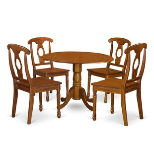 Charlton Home Gloucester 5 Piece Dining Set