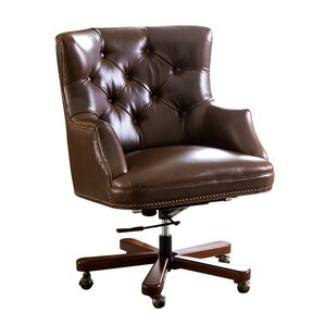 xanthe leather desk chair
