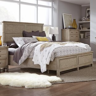 Gracie Oaks Westerman Panel Bed