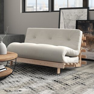 Clarkedale Futon Sofa By 17 Stories