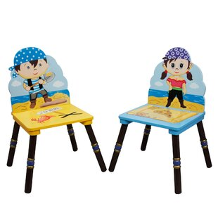 Pirates Island Kids Desk Chair Set (Set of 2) by Fantasy Fields