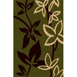Lifestyle Green Area Rug