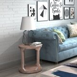 Hartzell Floor Shelf End Table with Storage by Foundry Select