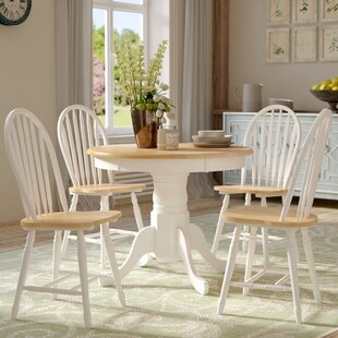 Gennevilliers 5 Piece Dining Set by Lark Manor