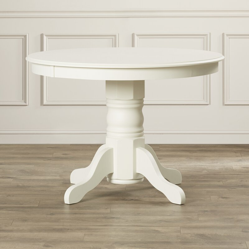 August Grove Standridge Pedestal Dining Table Reviews Wayfair