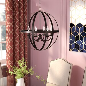 Joon Indoor 6-Light Candle Style Chandelier