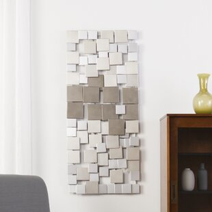 silver wall accents you ll love wayfair