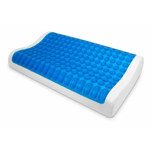 PU Gel Memory Foam Standard Pillow