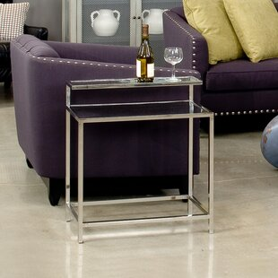 Top End Table by Sarreid Ltd