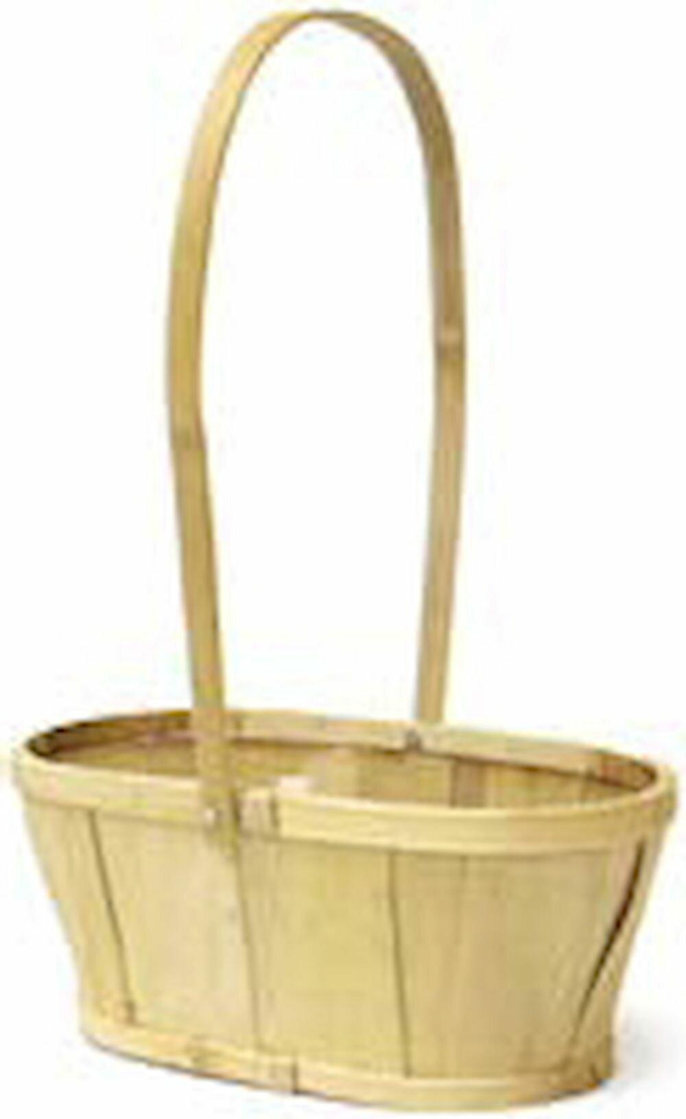 August Grove Bushel Wicker Rattan Basket