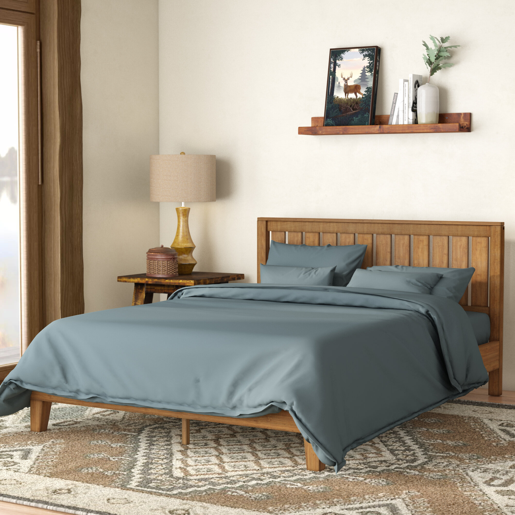 Rustic Beds Frames Free Shipping Over 35 Wayfair