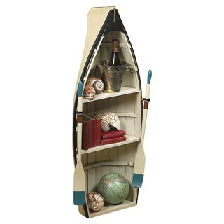 Amethyst Boat Bookcase by Breakwater Bay SKU:BB978764 Price Compare