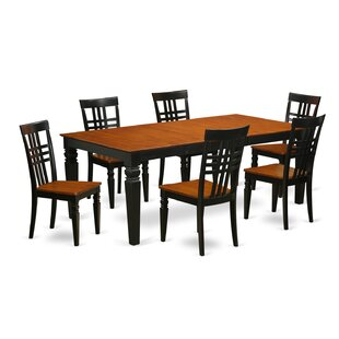 Beesley 7 Piece Wood Dining Set DarHome Co
