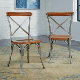 Haycraft Wood Dining Chair (Set of 2) Williston Forge