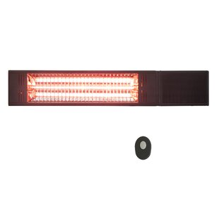 Infrared 1500 Watt Electric Ceiling Mounted Patio Heater By Westinghouse