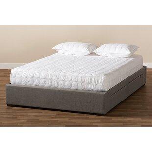 Ahreanna Upholstered Low Profile Storage Platform Bed