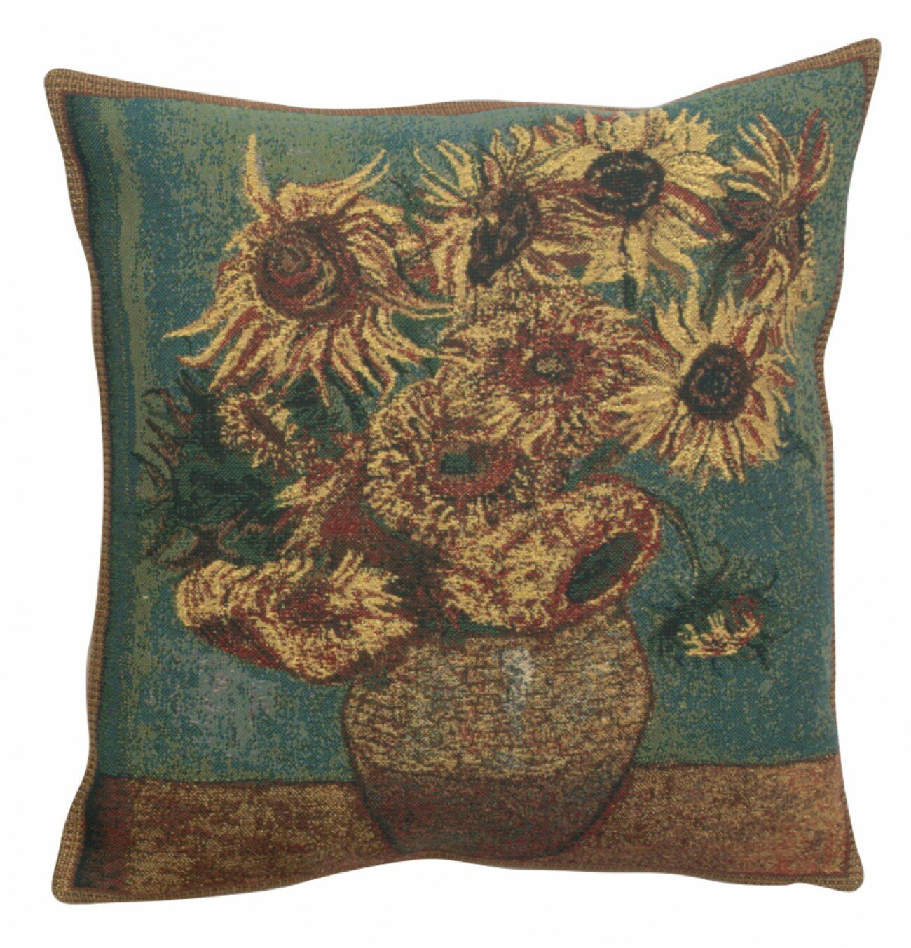 Winston Porter Langer Sunflowers Pillow Cover Wayfair