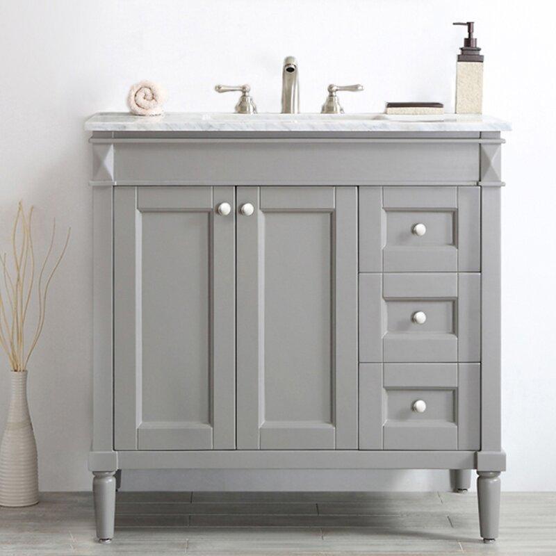 Millfield 37 Single Bathroom Vanity Set