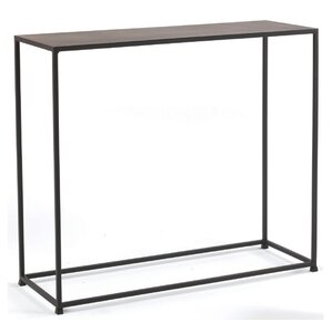 Delightful Woodbury Console Table In Coco