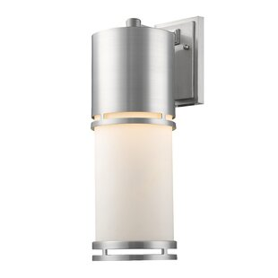 Best Feder 1-Light Outdoor Sconce By Ivy Bronx