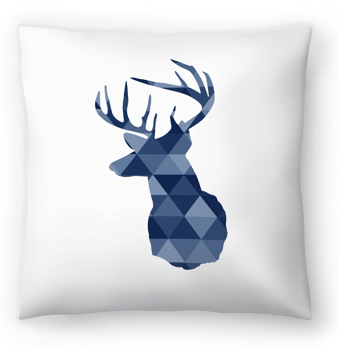 East Urban Home Nuada Geometric Deer Throw Pillow Wayfair