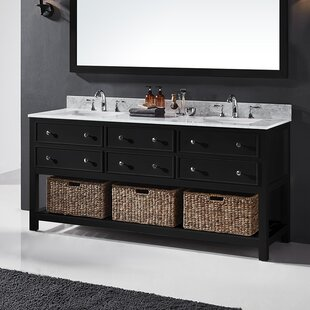 Coupon Celestia 72 Double Bathroom Vanity Set ByThree Posts