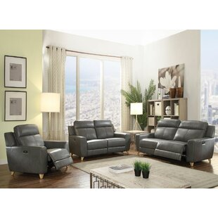 Dereon 3 Piece Living Room Set