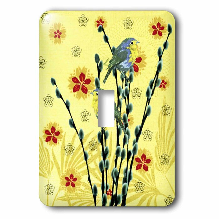 Single Toggle Art Plates Paradise Frog Switch Plate Tools Home Improvement Electrical