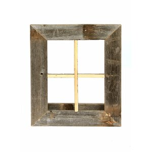 rustic window planter frame wall dcor - Window Frame Wall Decor