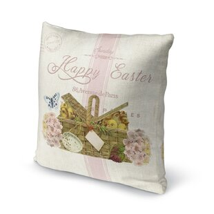 Happy Easter Throw Pillow