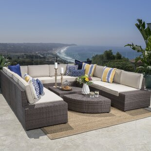 Hults 12 Piece Sectional Set With Cushions by Brayden Studio Comparison