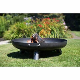 RedFire Steel Wood Burning Outdoor Fireplace By Symple Stuff