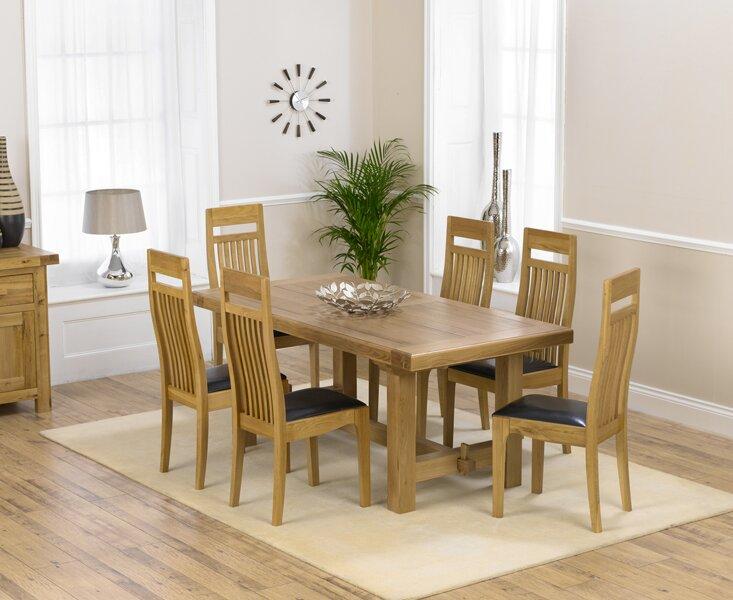 Marlow Home Co Essgruppe Pipers Mit Ausziehbarem Tisch