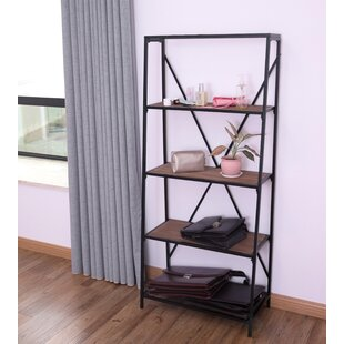 Salmon Etagere Bookcase by Williston Forge Reviews