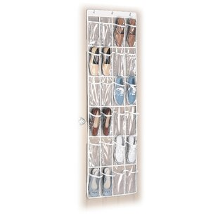 Whitmor, Inc 24-Pocket 12 Pair Overdoor Shoe Organizer