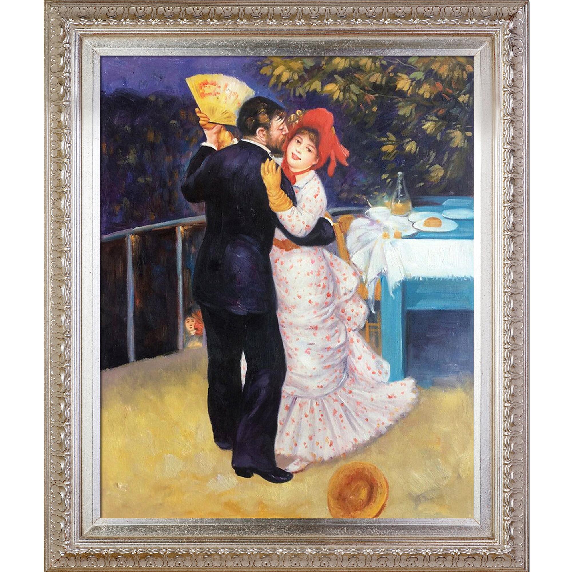 Vault W Artwork Dance In The Country By Pierre Auguste Renoir Framed Painting Wayfair