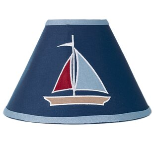 Affordable Price Nautical Nights 10 Cotton Empire Lamp Shade By Sweet Jojo Designs